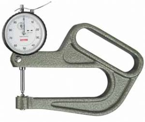 KAFER Dial Thickness Gauge J 100 / 30 with Lifting Device - Reading: 0.01 mm